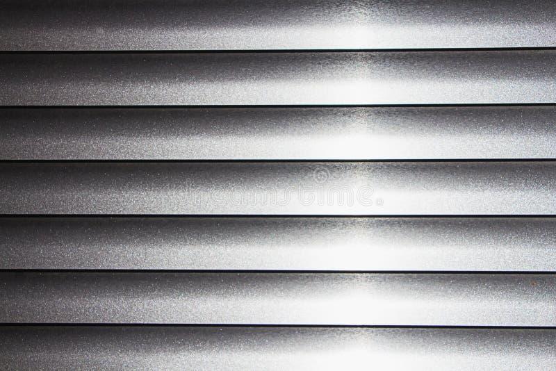Textuur van zilveren jaloezie royalty-vrije stock foto