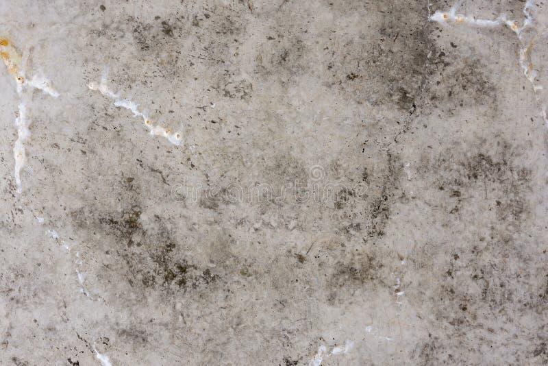 Textuur - vuil beton met druppels stock foto