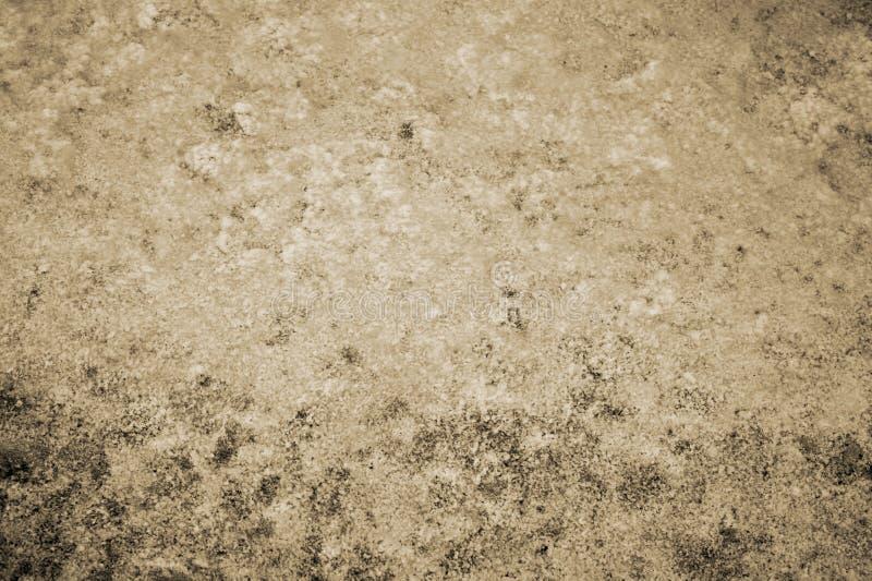 Textuurabstractie van water en algen bij de bodem van een afgevoerde vijver toning stock afbeeldingen