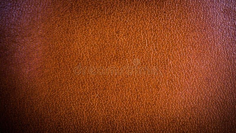 Textuurachtergrond van het fijne leer van de huid bruine luxe royalty-vrije stock afbeelding