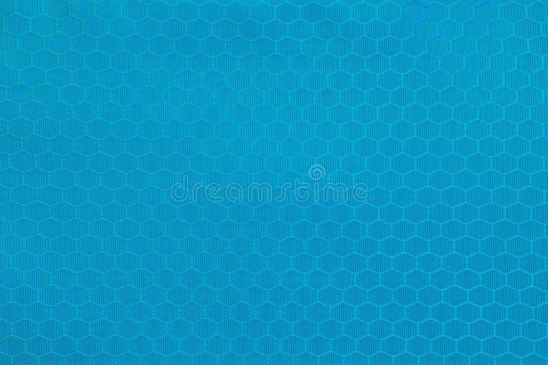 Textuurachtergrond van polyesterstof Het plastic klopje van de weefselstof royalty-vrije stock fotografie