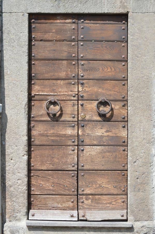 Textuurdeur stock afbeelding