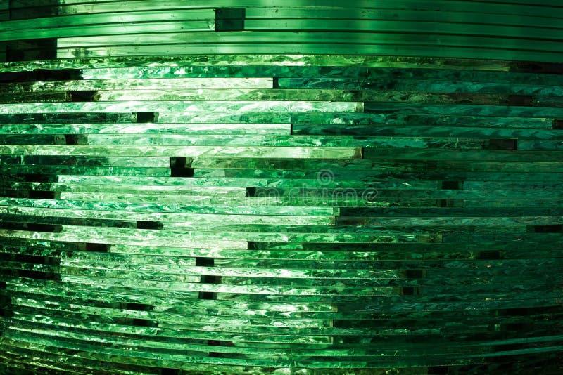 Textuurglas mozaïek De samenstelling van het glas royalty-vrije stock afbeeldingen