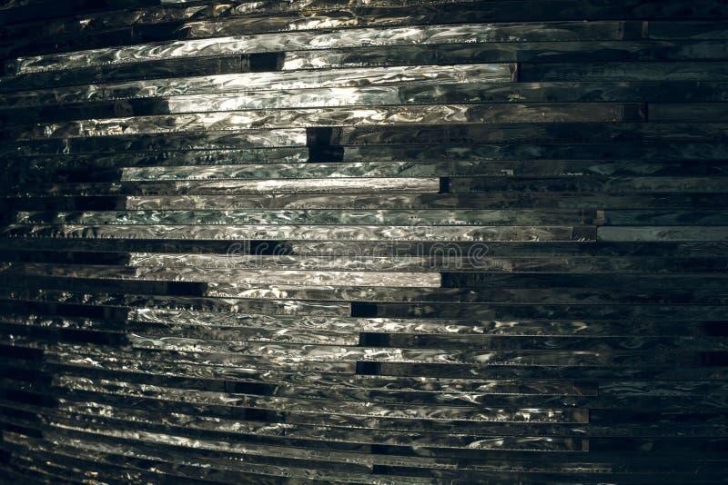 Textuurglas mozaïek De samenstelling van het glas stock afbeelding