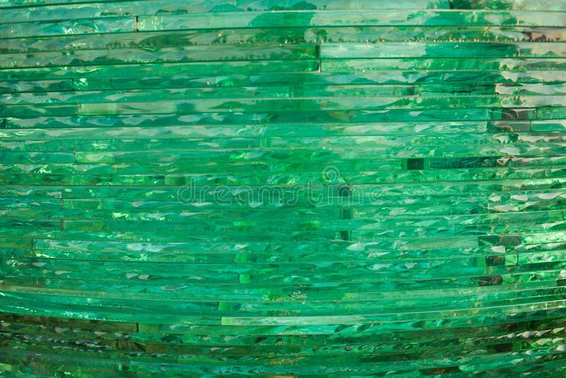 Textuurglas mozaïek De samenstelling van het glas royalty-vrije stock fotografie