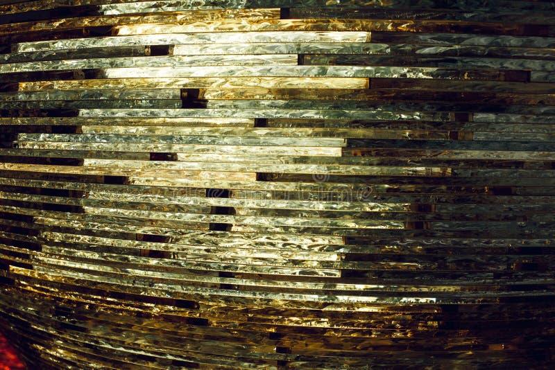 Textuurglas mozaïek De samenstelling van het glas stock foto
