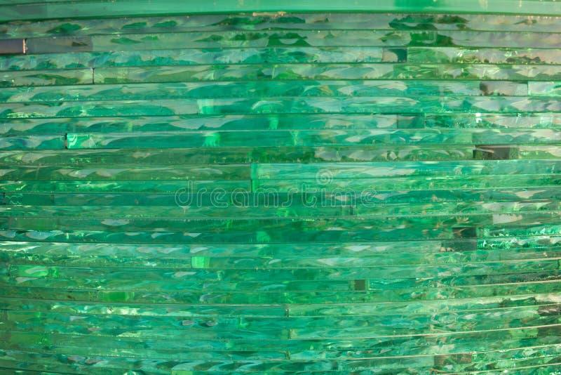 Textuurglas mozaïek De samenstelling van het glas stock fotografie