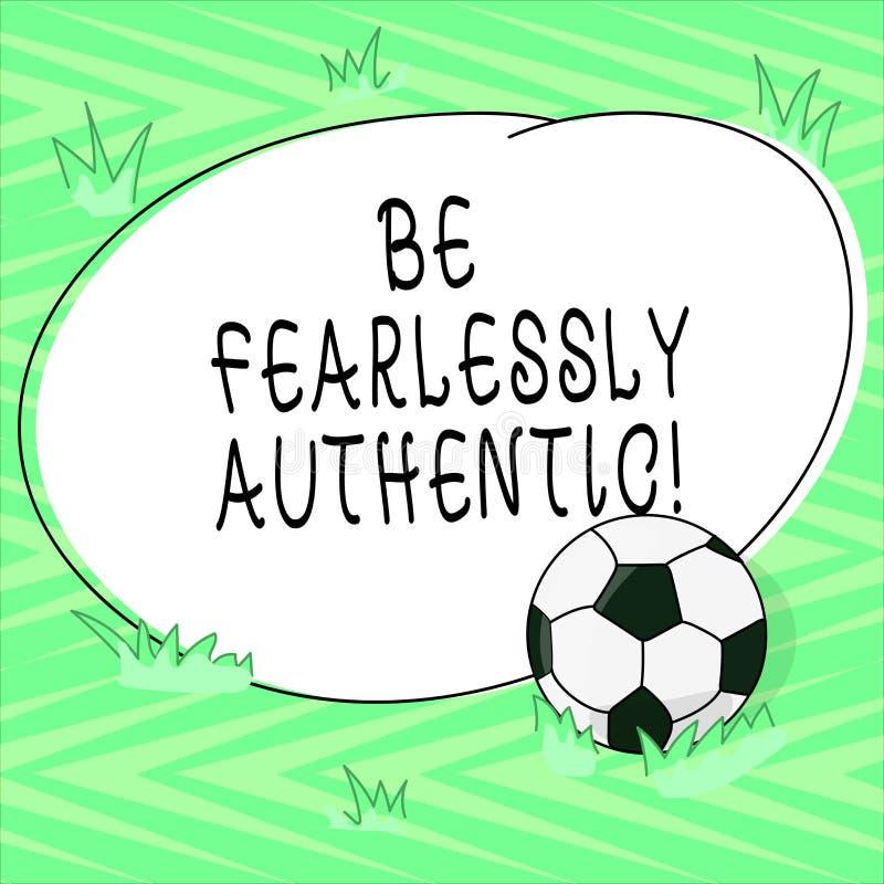 Textzeichenvertretung ist furchtlos authentisch Begriffsfoto senden gerichtete Mitteilungen an gekennzeichnetem Zeiten Fußball au vektor abbildung