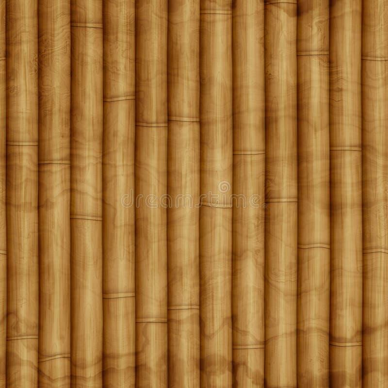 Texure di bambù senza cuciture fotografia stock