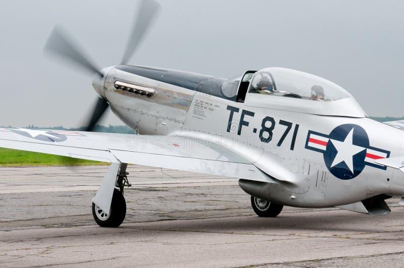 Tf-51D vechter stock afbeeldingen