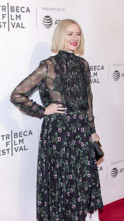 TFF 2019 - Luce. New York, NY, USA - April 28, 2019: Naomi Watts attends `Luce` premiere during 2019 Tribeca Film Festival at The Stella Artois Theatre stock photo