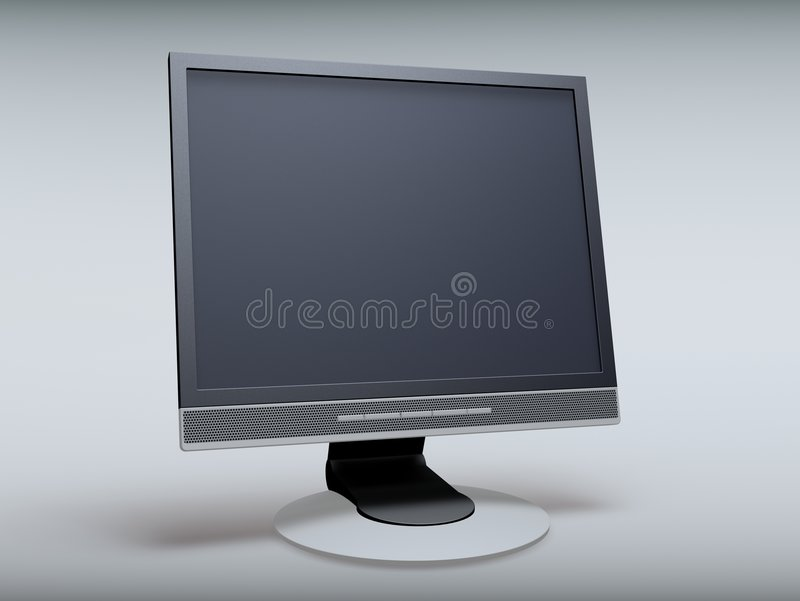 Tft display stock photography