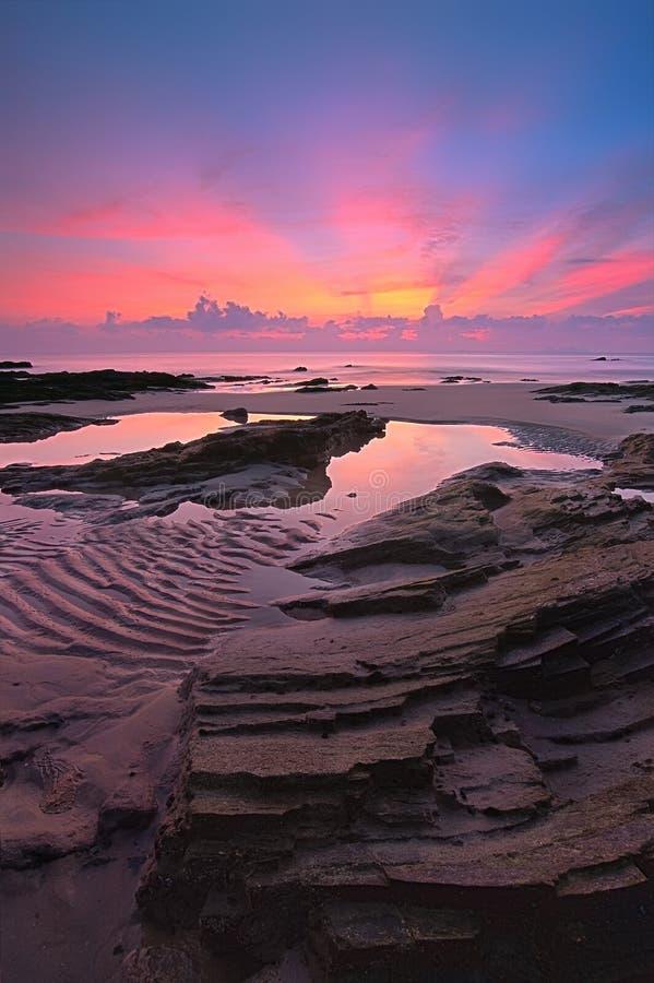 Tg Jara Beach stockbilder