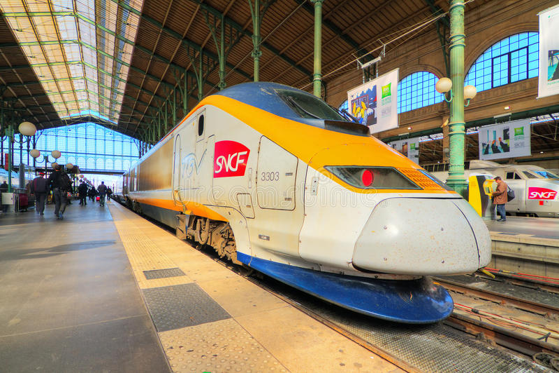 TGV Παρίσι στοκ φωτογραφίες με δικαίωμα ελεύθερης χρήσης