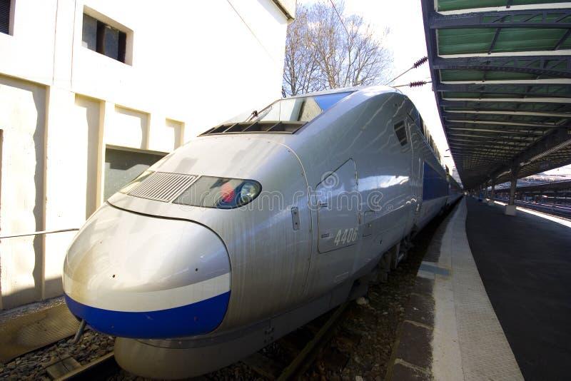 TGV royalty-vrije stock afbeelding