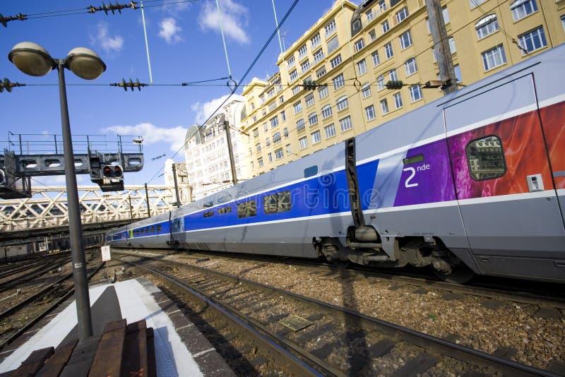 TGV image libre de droits