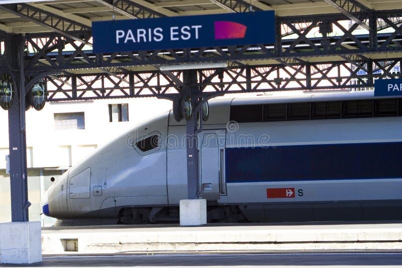 TGV 免版税库存图片