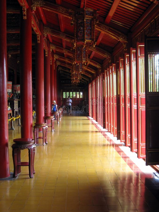 ThẠ¿ MiẠ¿ u świątynia obrazy stock