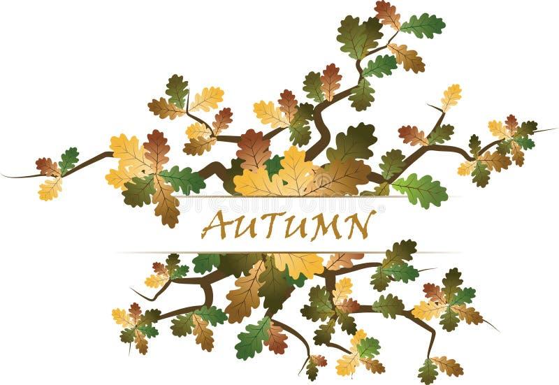 Thème d'automne illustration libre de droits