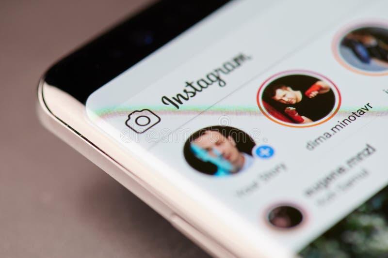 Thème d'histoires d'Instagram photos libres de droits