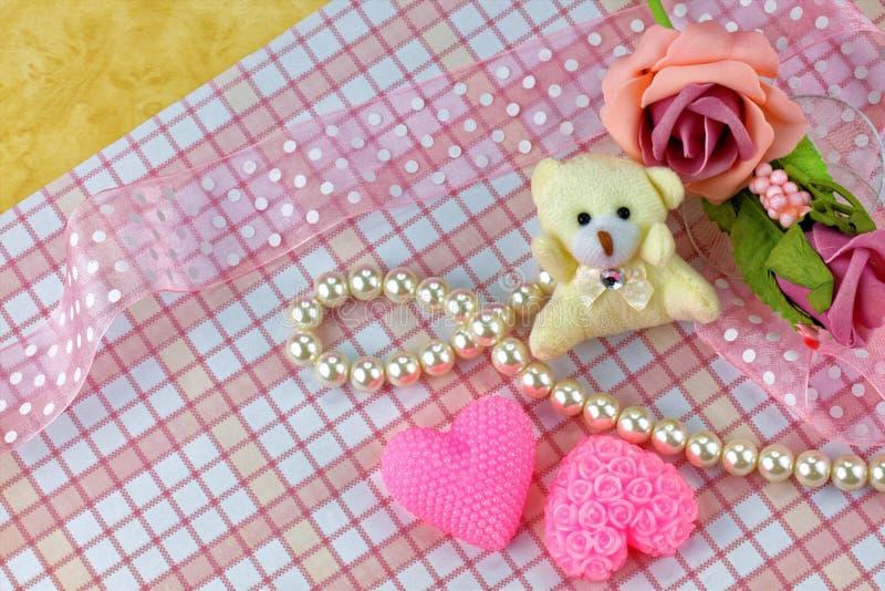 Thème de jour de valentines photo stock