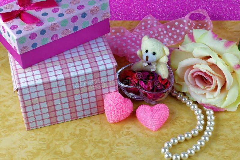 Thème de jour de valentines images libres de droits