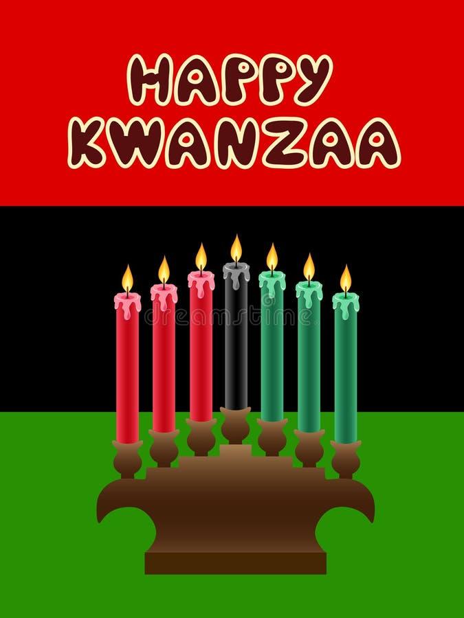 Thème de Kwanzaa illustration stock