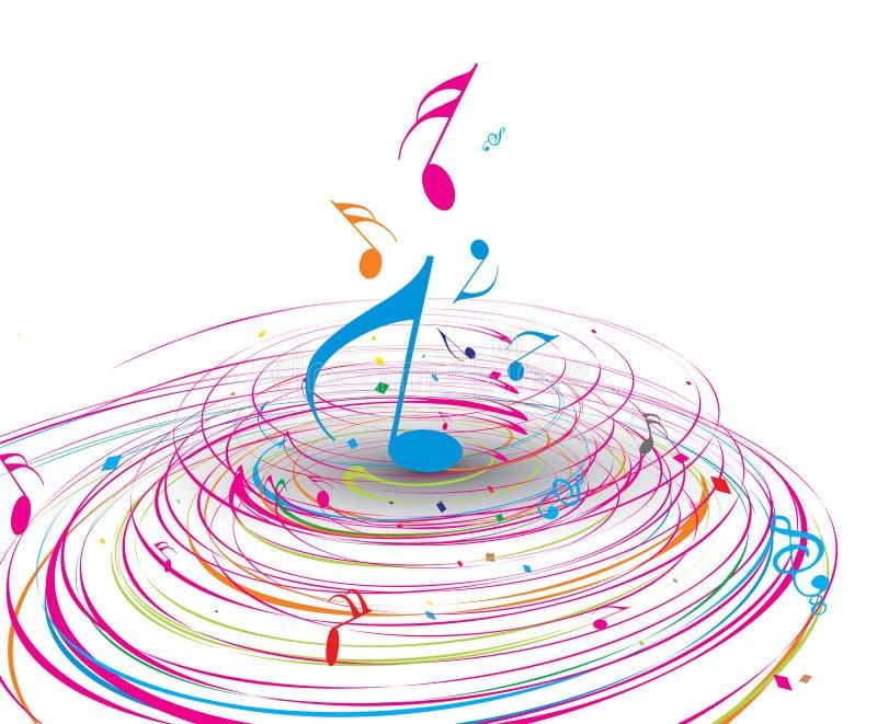 Thème de musique illustration libre de droits