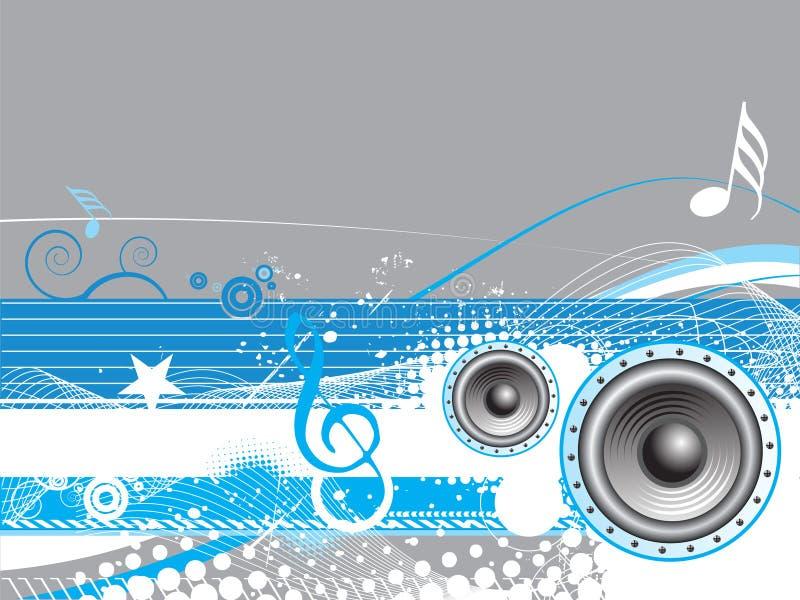Thème de musique illustration de vecteur