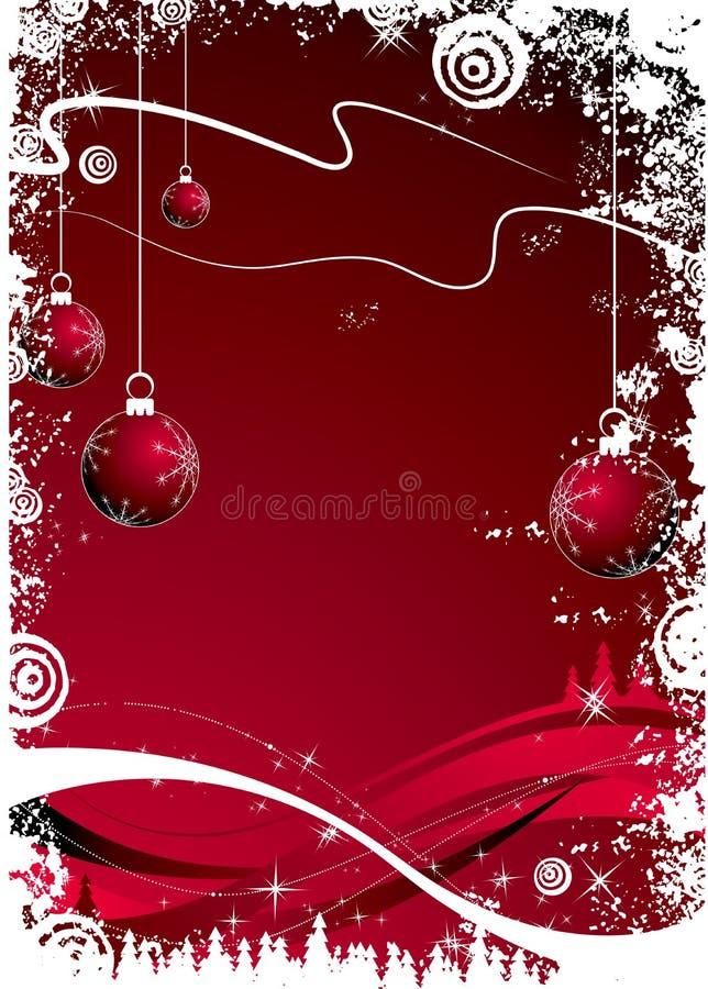 Thème de Noël illustration stock