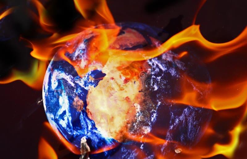 Thème de réchauffement global image libre de droits