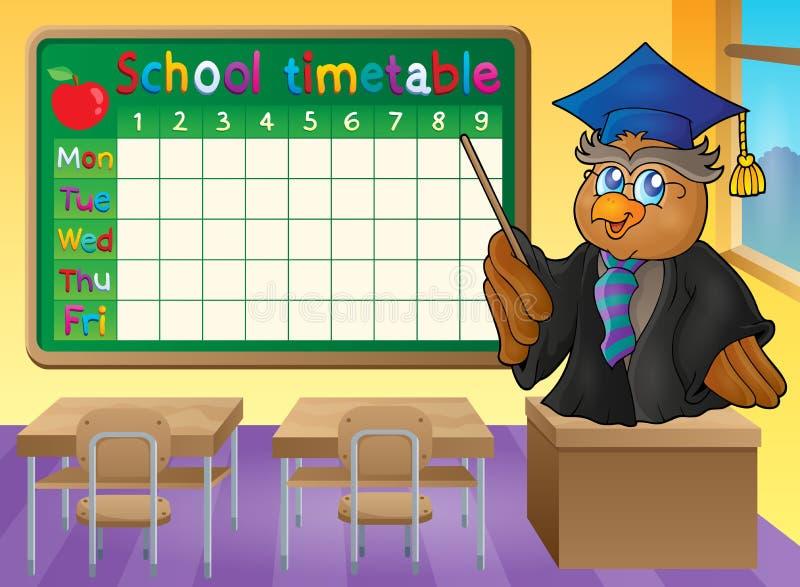 Download Thème 2 De Salle De Classe D'horaire D'école Illustration de Vecteur - Illustration du présidence, modèle: 56477332