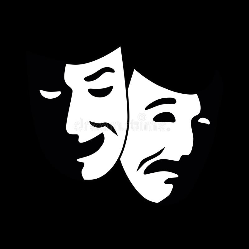 Théâtre illustration stock