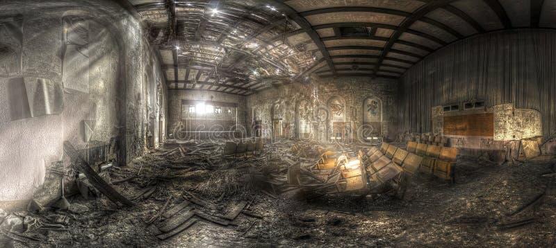 Théâtre abandonné II photographie stock