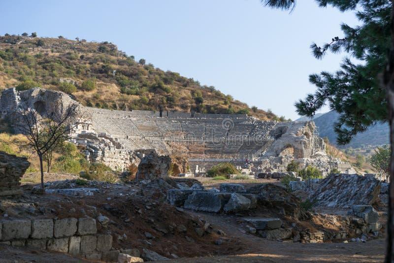 Théâtre antique d'Ephesus photographie stock