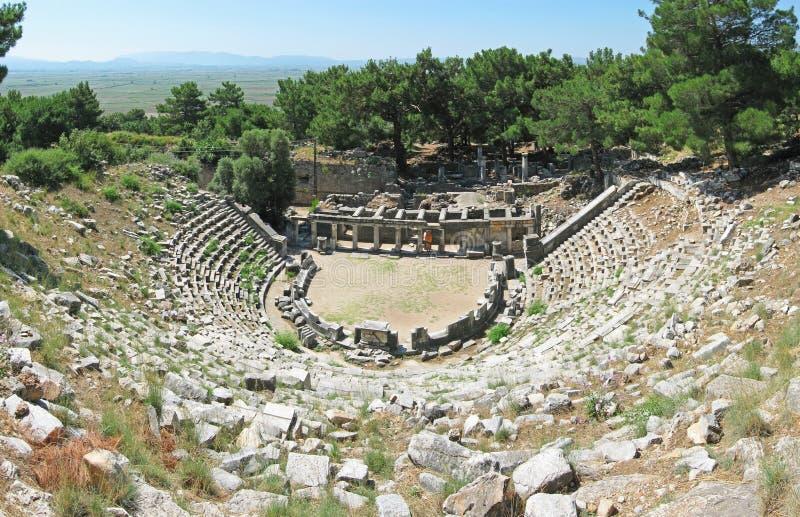 Théâtre antique dans Priene photographie stock