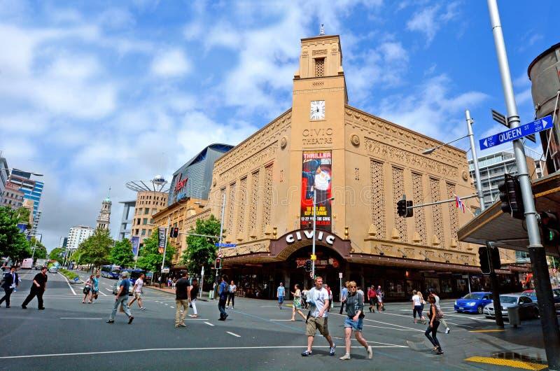 Théâtre civique d'Auckland - Nouvelle-Zélande photo libre de droits