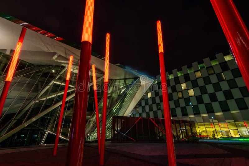 Théâtre d'énergie de Bord Gais, Dublin Ireland photo libre de droits