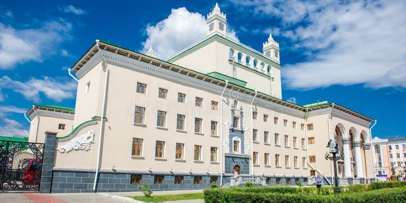 Théâtre d'opéra et de ballet d'état de Buryat image libre de droits