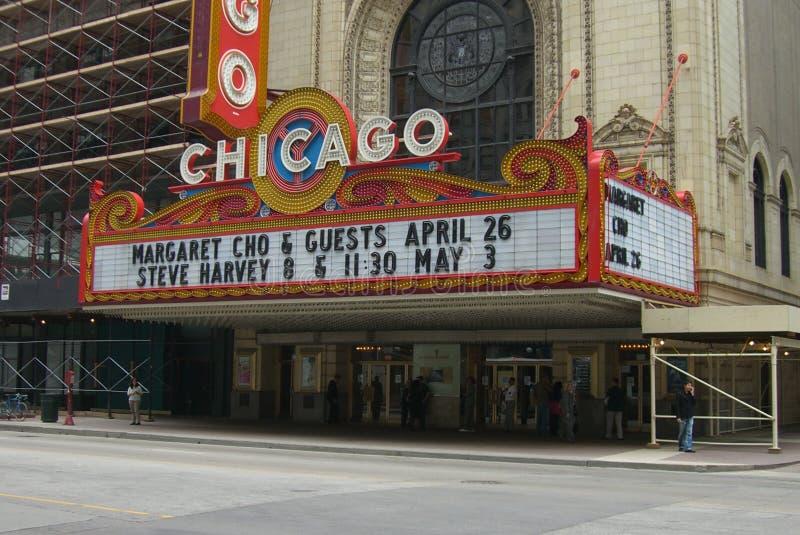 Théâtre de Chicago photos stock