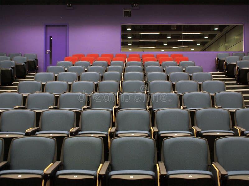 Théâtre de conférence à l'université photographie stock libre de droits