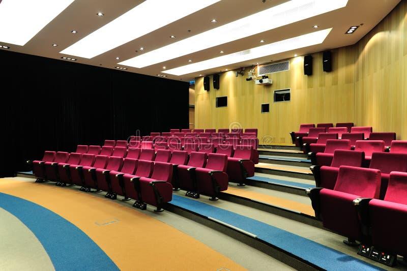 Théâtre de conférence vide photos stock