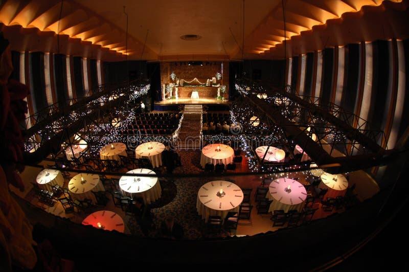 Théâtre de dîner photos libres de droits