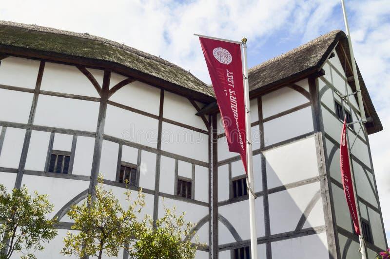Théâtre de globe, Londres photos stock