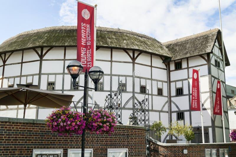 Théâtre de globe, Londres photos libres de droits
