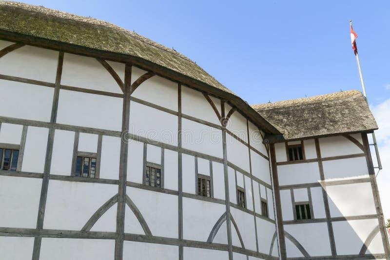 Théâtre de globe, Londres image libre de droits