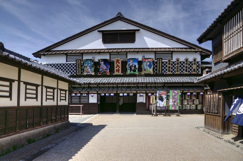 Théâtre de Kabuki, Japon photos libres de droits