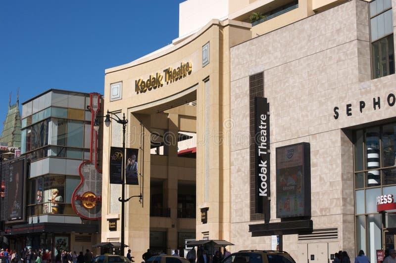 Théâtre de Kodak photographie stock