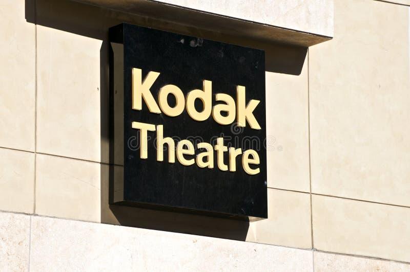 Théâtre de Kodak image libre de droits