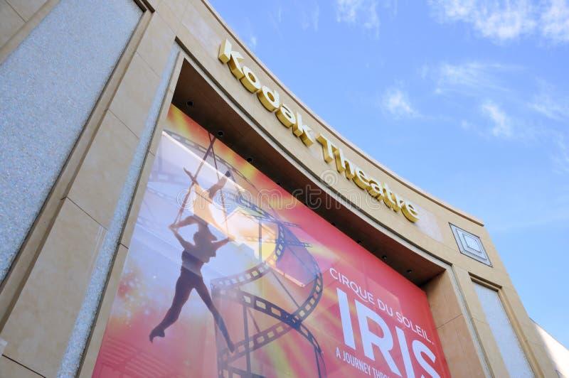 Théâtre de Kodak image stock